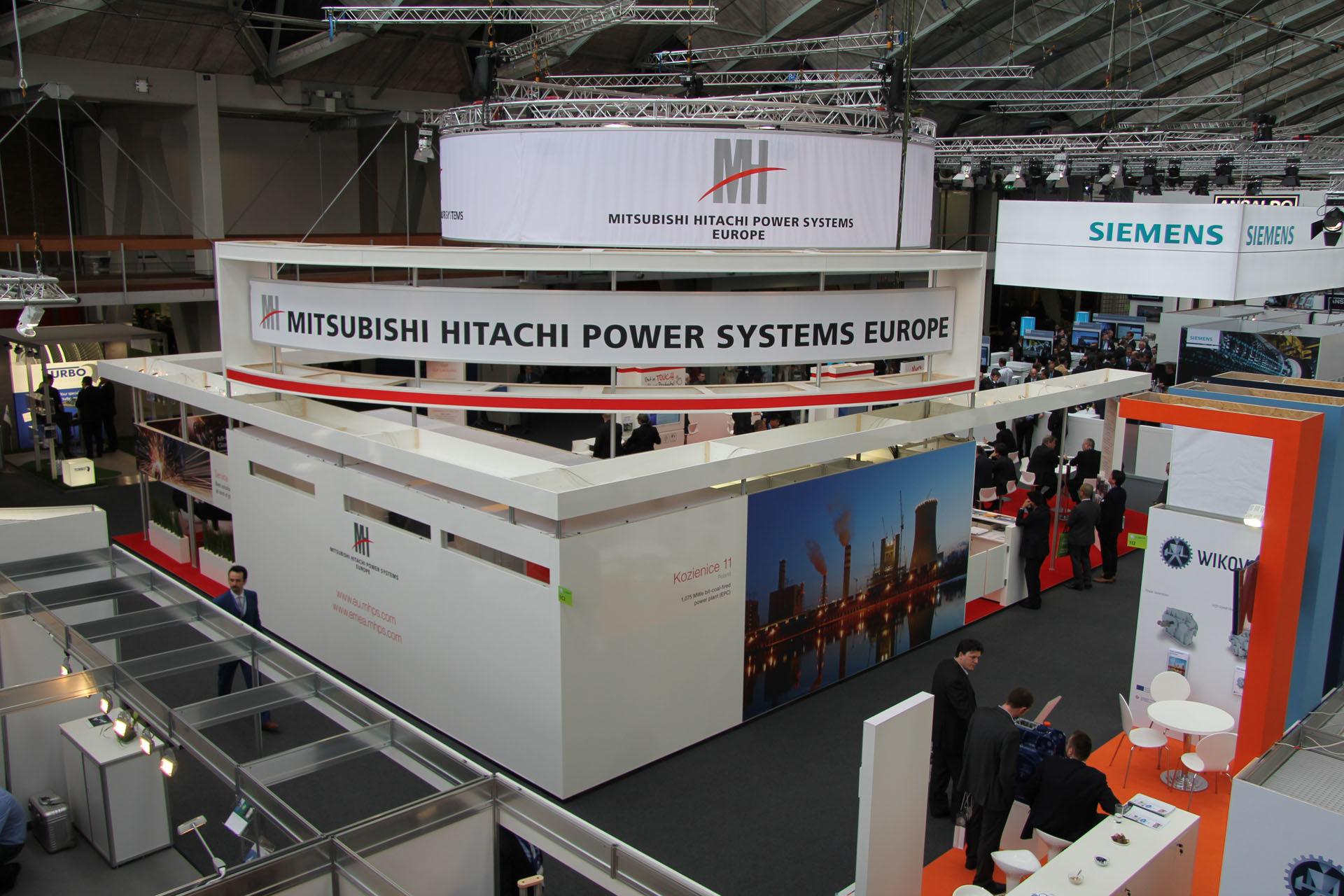 Mitsubishi Creativ Messebau Erfolgreiche Messeauftritte sind